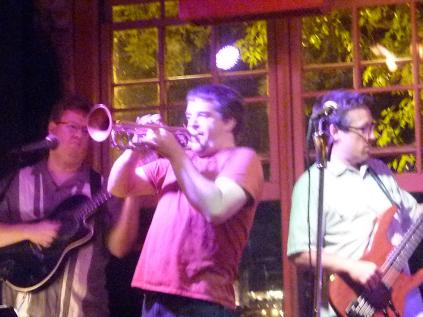 With Zack Lozier, Tom Peterson and Havana Hi-Fi at Aster Cafe, Minneapolis, MN