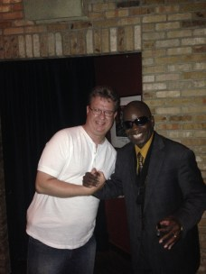 With Maceo Parker at Dakota 6-18-14 (2)