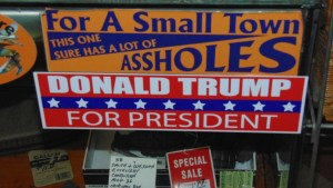 Bumper Sticker Editorial Goof