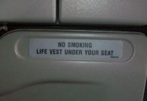 No Smoking Lifevest edit error