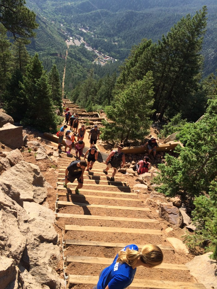 Down Manitou Incline