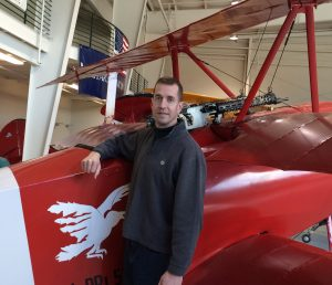 Author David McCaleb von Richthofen