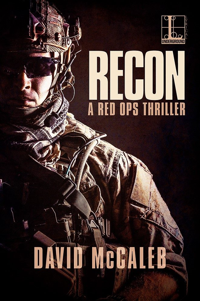Cover of novel RECON by David McCaleb