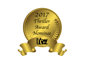 International Thriller Writers Award Nominee badge