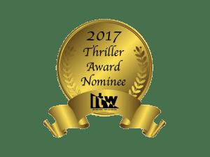 International Thriller Writers Award Nominee badge