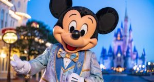 Mickey Mouse at Disney World