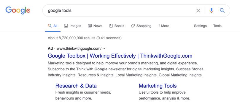Free google tools - adwords