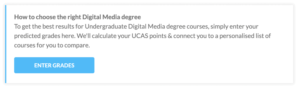 Digital media degrees