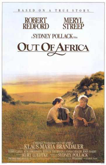 Out of Africa - best romantic movies on Netflix India