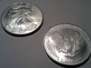 2001 Silver American Eagle – Uncirculated