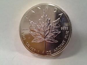1999 Silver Maple Leaf