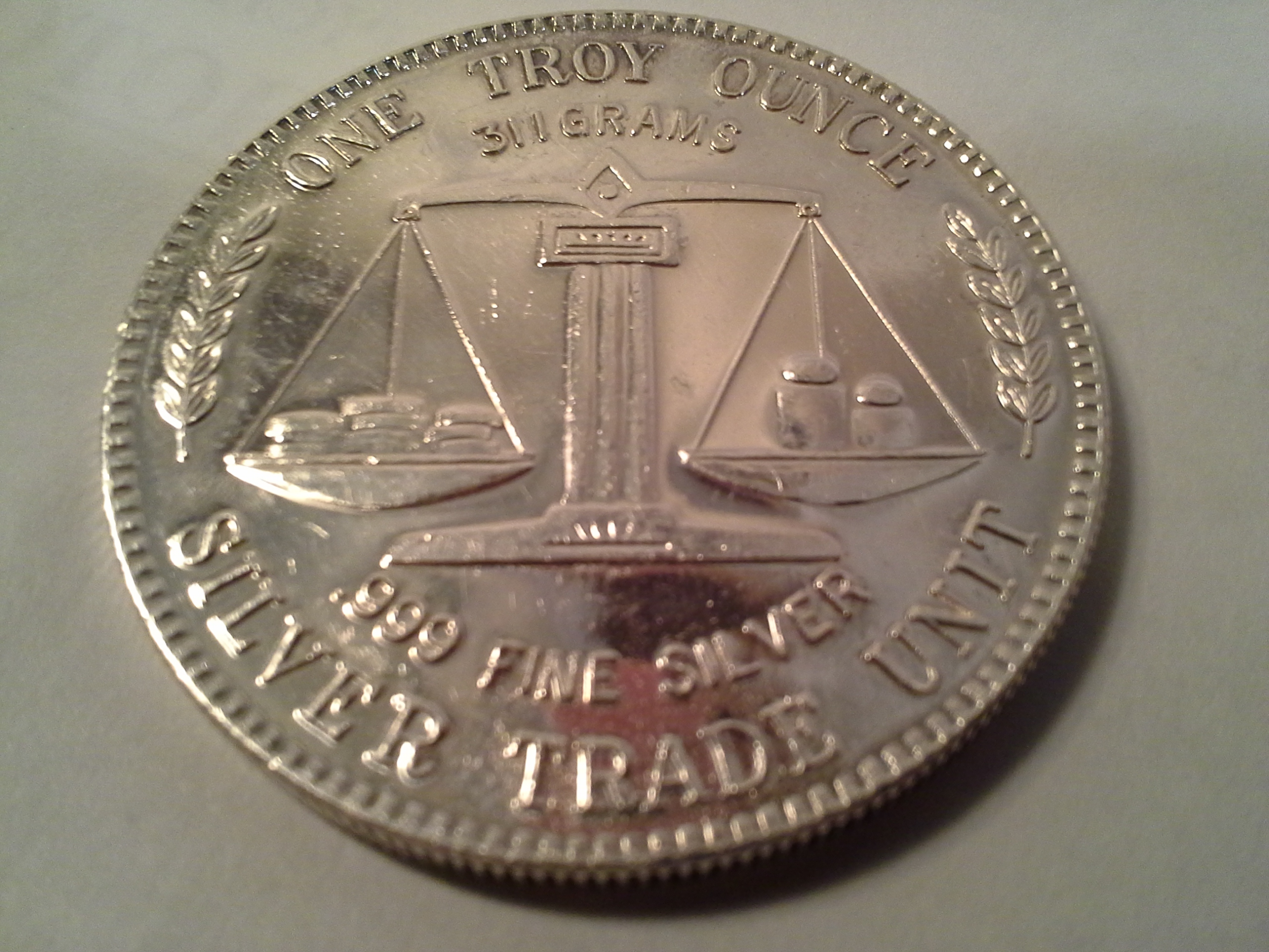 1 Oz 999 Fine Silver American Pacific Mint Silver Trade