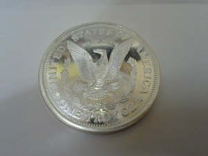1 Troy Oz .999 Fine Silver Lady Liberty - Eagle Round