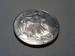 1998 Silver American Eagle