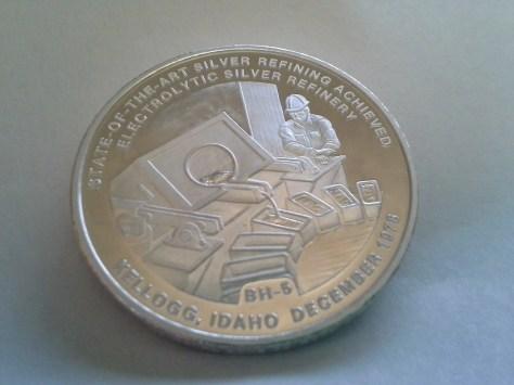 1982 BH-5 Bunker Hill Company Medallion Series .9995 Fine Silver 1OZ Round - Rare