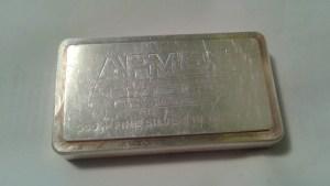 10 Troy Ounce .999 Fine Silver Bar by Academy for APMEX