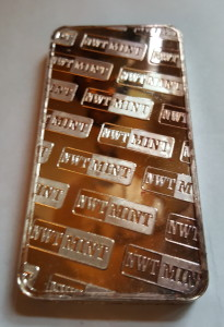 10 Ounces Troy .999 Fine Silver Bar forged by the Northwest Territorial Mint