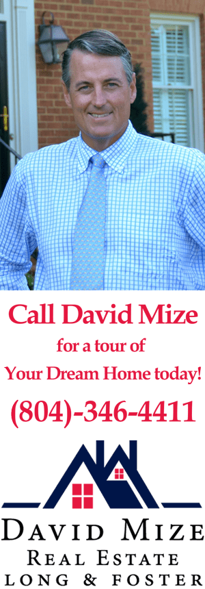 David Mize Long & Foster Real Estate Broker