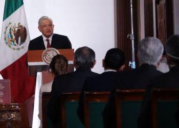 CIUDAD DE MÉXICO, 01SEPTIEMBRE2021.- Andrés Manuel López Obrador, presidente de México, ofreció su tercer informe de gobierno desde Palacio Nacional. FOTO: GALO CAÑAS/CUARTOSCURO.COM