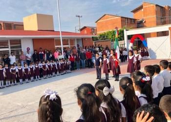 Escuela reconstruida