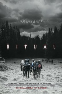 The Ritual movie poster - based on the novel by Adam Nevill