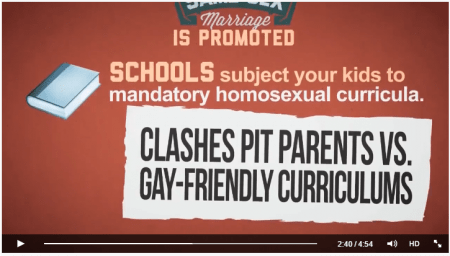 """Clashes pit parents vs gay-friendly curriculums"""