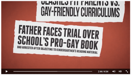 """Father faces trial over school's pro-gay book: Dad arrested after objecting to kindergartner's reading material"""