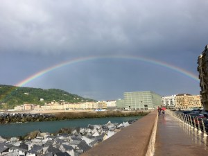 Arcoiris en Donostia