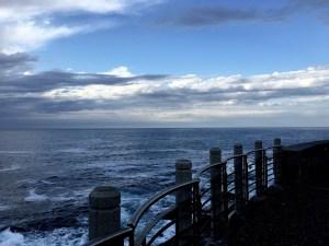Mar Cantábrico desde Donostia