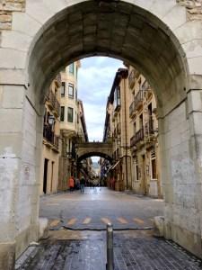 Acceso a las calles del centro de Donostia desde el puerto