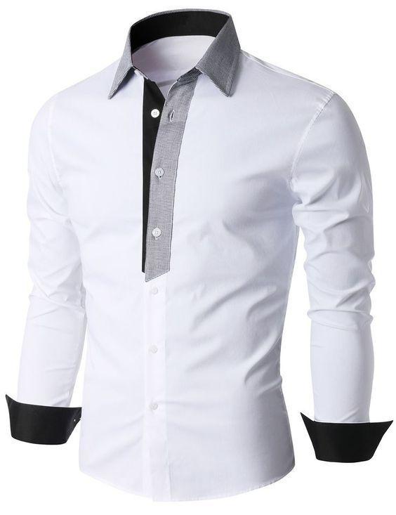 Camisa casual de algodón