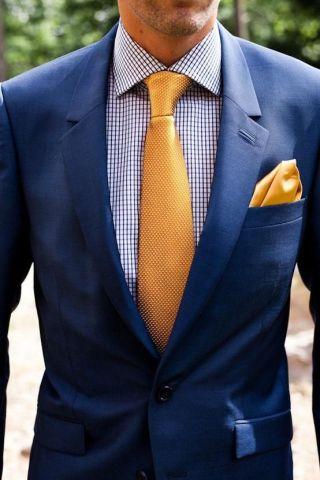 Recomendaciones de trajes azul marino en época de calor 5