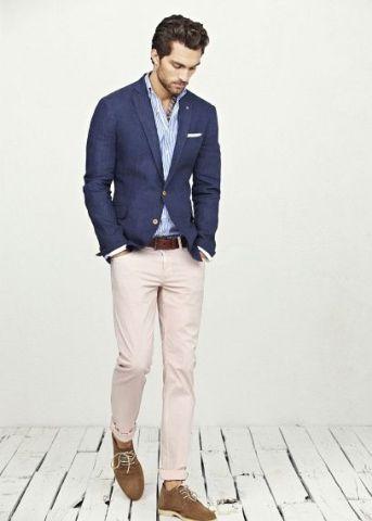 Recomendaciones de trajes azul marino en época de calor 7