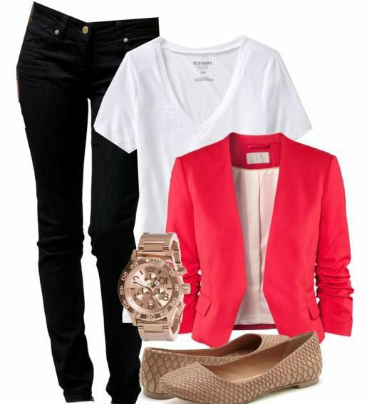 Como usar jeans y flats