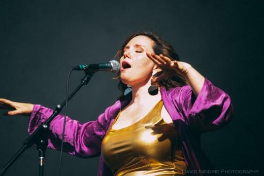 Vancouver Folk Music Festival - Frazey Ford performs live