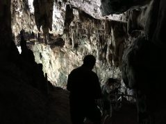 What you couldn't see in the picture was lots of bat poop on some sections of the cave near the opening.