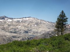Mountains of the Desolation Wilderness in the background