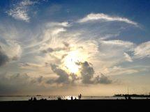 Sunset at Ala Moana Beach Park, Honolulu