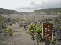 At the bottom of Kīlauea Iki Crater