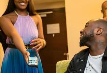 Davido and Chioma Having Fun