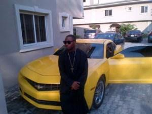Davido's garage (top expensive car of the boss) - Davido