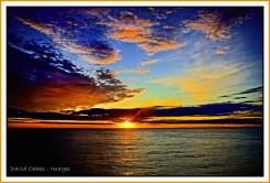 Arctic-Circle-sunset