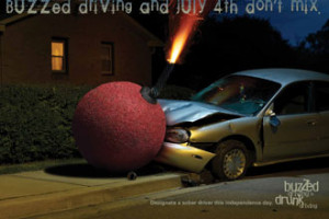 buzzed driving and the 4th of July don't mix