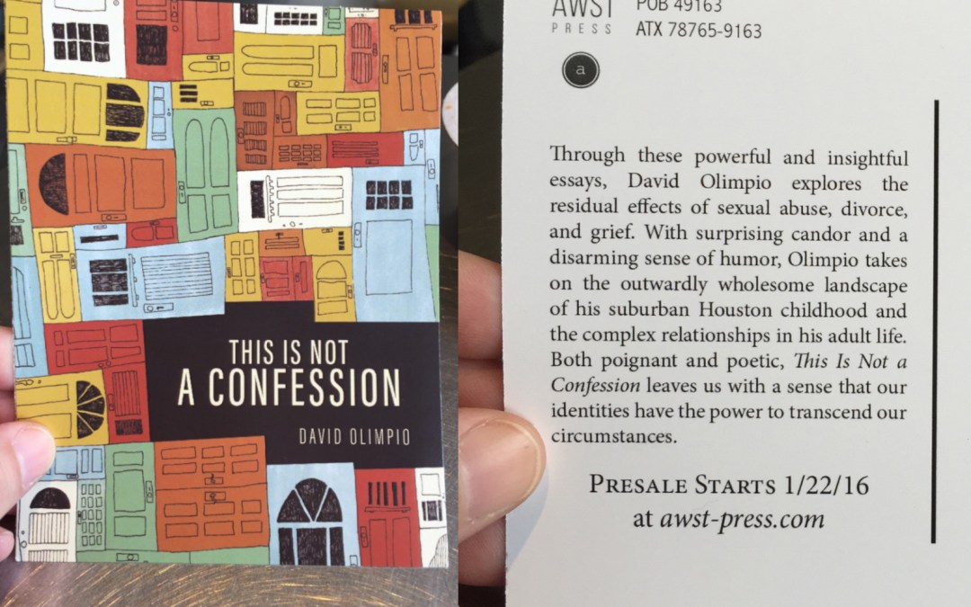 This is Not A Disclaimer About My Book (okay, yes it is!)