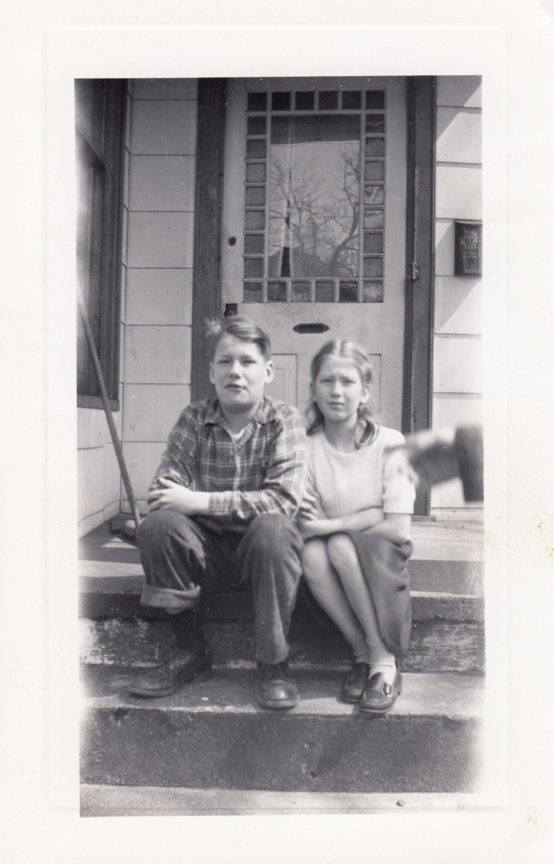 My mother and her brother