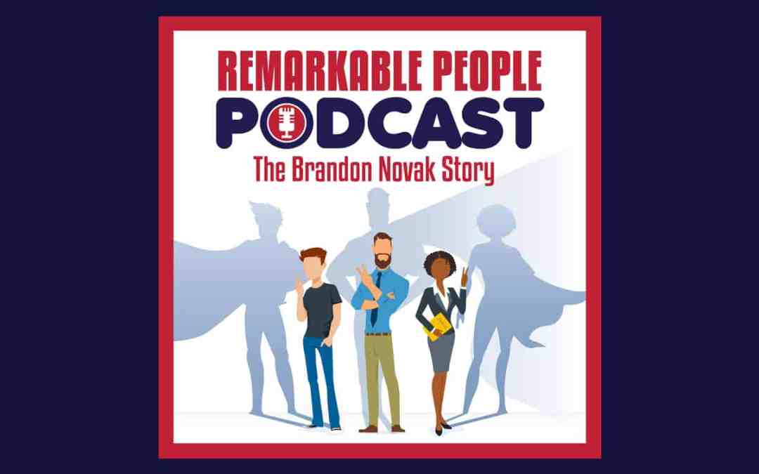 Brand Novak celebrates his 5 year sobriety anniversary on the Remarkable People Podcast May 25 2020