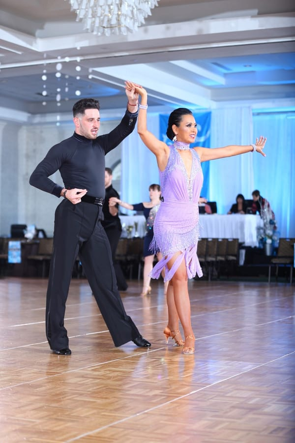 Snow-Ball-Dancesport-Competition-2020_Echo-Huang-and-Professional-Partner-Gene-Bersten