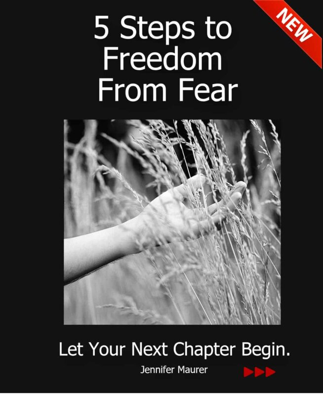 Jennifer Maurer | Living in the Moment, Recovering from Divorce, & Giving Your Personal Best 5 steps to freedom book