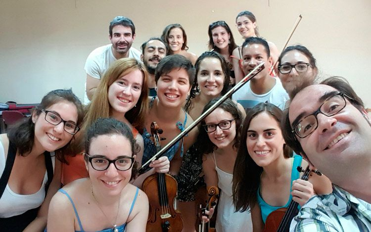 La Joven Orquesta Nacional de España y cómo improvisar una charla sobre redes sociales