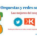 Las mejores orquestas en redes sociales del 2015